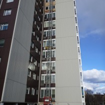 Fönsterbyte på Ångermanlandsgatan, Örnsköldsvik