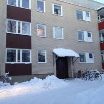 Mariehemsvägen i Umeå, Bostaden