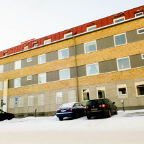 FSN bytte fönster i kvarteret Aldebaran i Skellefteå