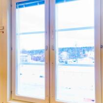 Fönsterbyte på Bolidenskolan i Boliden