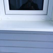 FSN fick i uppdrag av Mitthem att byta fönster i kvarteret Vetet, Sundsvall.