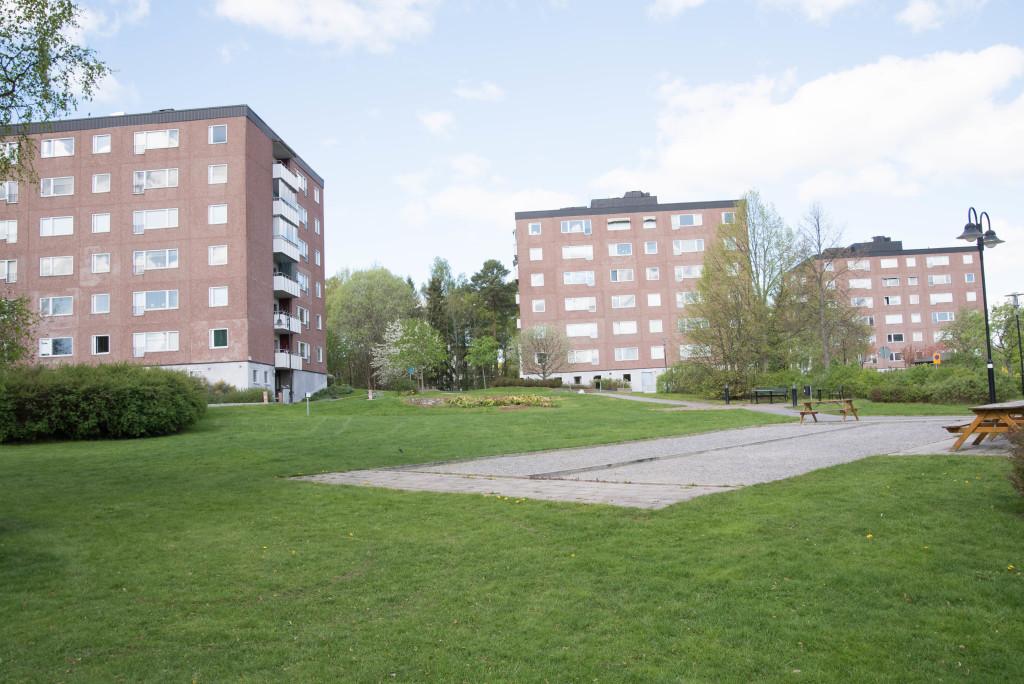 Drygt 1500 nya fönster till bostadsrättsförening i Stockholm