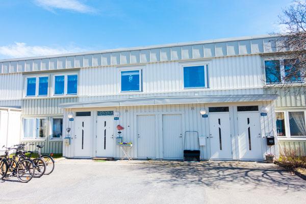 Nya fönster till BRF Hartassen i Umeå