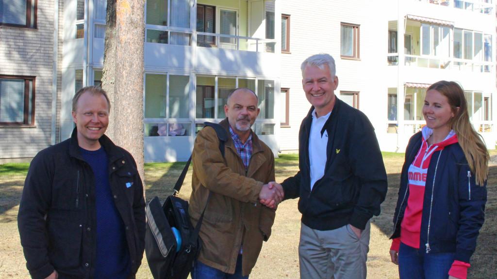 FSN Nordfönster får jätteorder av HSB i Umeå