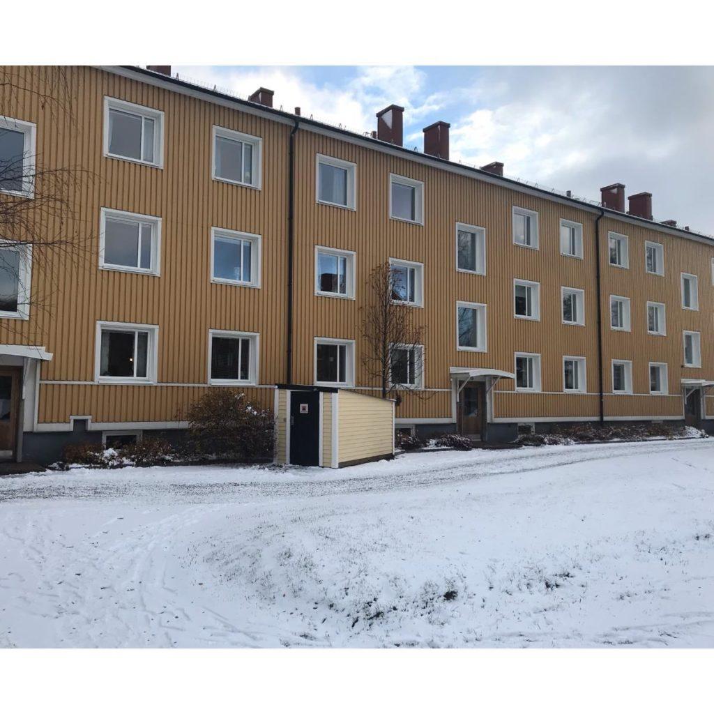 Fönsterbyte på Brf Ränseln, Luleå