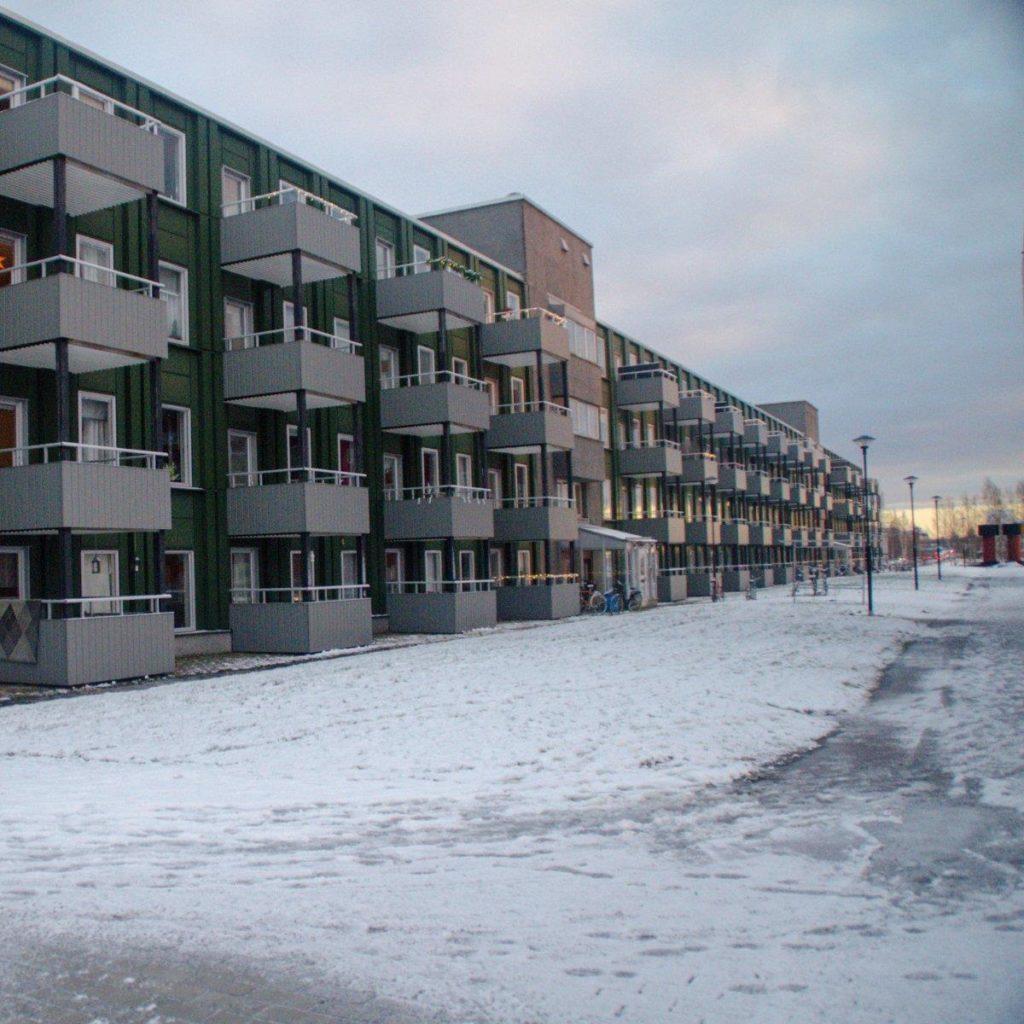 Fönsterbyte på Brf Hägern, Luleå