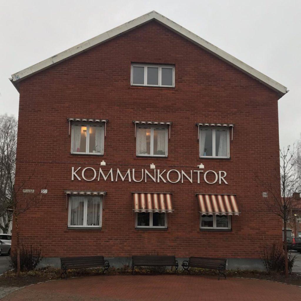 Fönsterbyte på Vindelns kommunhus