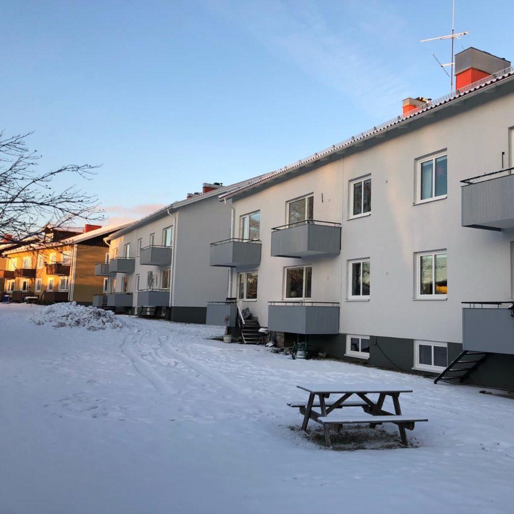 Fönsterbyte på Per Jans Väg i Umeå